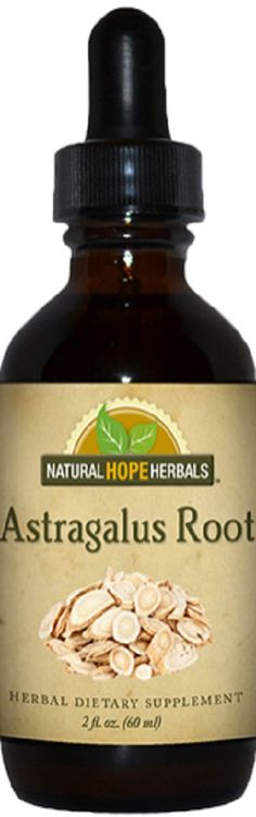 ASTRAGALUS ROOT Single Herb Tincture Tonic Herb for Deep Immune System Support