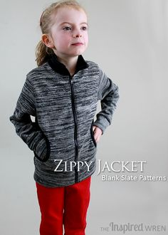 Zippy Jacket from Blank Slate Patterns | Sewn by The Inspired Wren
