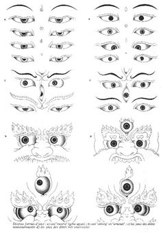 Japanese Tattoo Art, Japanese Artwork, Art Buddha, Tibetan Tattoo, Art Thai, Tibet Art, Kerala Mural Painting, Thangka Painting, Traditional Japanese Art
