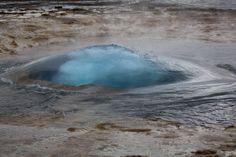 Geysir Strokkur Flora Und Fauna, Island, Waves, Outdoor, Fire And Ice, Landscape, Nature, Viajes, Pictures