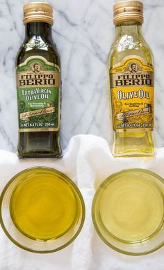 What's the Difference Between Regular Olive Oil and Extra-Virgin Olive Oil?