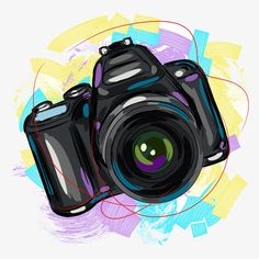 Discover recipes, home ideas, style inspiration and other ideas to try. Camera Logo, Camera Art, Camera Painting, Camera Drawing, Camera Wallpaper, Tumblr Wallpaper, Photography Camera, Photography Logos, Free Photography
