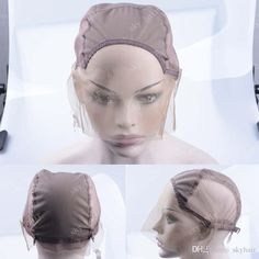 2e251299340 Gluess Wig Caps For Making Wigs Only Stretch Lace Weaving Cap Adjustable  Straps High Quality Guarantee Lace Front Wig Cap Small Cap Lace Wigs Wig  Lace Cap ...