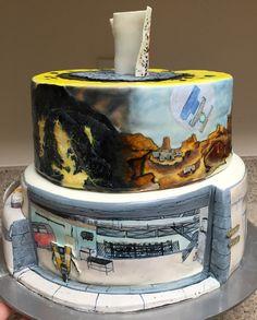 Hand-painted Borderlands 2 Birthday Cake