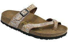 Papillio Tabora Cork Flower Violet Cork/Leather Youll love how this classy thong looks on your feet. The soft, non-binding fit, plus security and top-strap adjustability, make it a good candidate for your favorite summer sandal. #birkenstock #birkenstockexpress.com  $120
