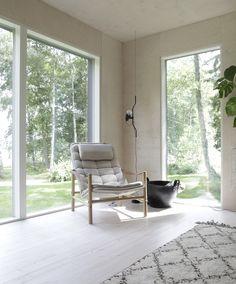 Nordic Summer House by Minna Jones - Sarah Le Donne Modern Interior, Interior Architecture, Interior And Exterior, Interior Design, Cottage, Cozy Corner, White Rooms, Interior Inspiration, Design Inspiration
