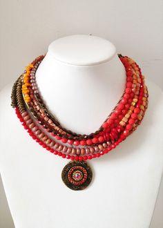 Renee Levesque Spicy Pendant Necklace  www.reneelevesque.myshopify.com