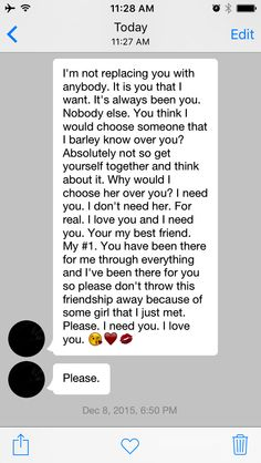 Best friend wrote me a paragraph when I was mad at her. She was mad at her other friend and I thought she was replacing me with a new girl. for your boyfriend Paragraphs For Your Bestfriend, Cute Paragraphs For Her, Best Friend Paragraphs, Cute Girlfriend Texts, Boyfriend Texts, Boyfriend Quotes, Best Friend Texts, Best Friend Quotes, Cute Couples Texts