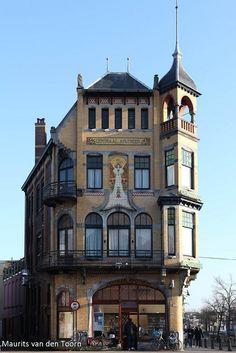 Art Nouveau building, Leeuwarden, The Netherlands