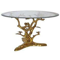 Bronze Tree Branch with 2 Birds Coffee Table random ideas Pinterest