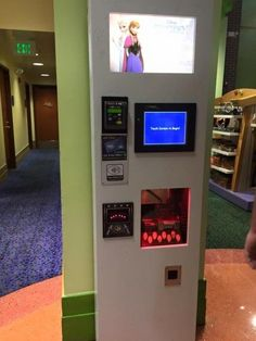 Info on the new digital pressed penny machines at Disney World - + link to printable map of ALL pressed penny machines in the parks.