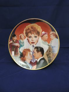 I Love Lucy Collectors Plate - $15.00
