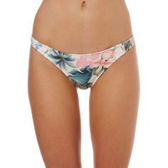 Rhythm Islander Cheeky Separate Pant (£16) ❤ liked on Polyvore featuring swimwear, bikinis, bikini bottoms, women, brief bikini bottoms, ruched swimwear, ruched bikini bottom, scrunch bikini and scrunch bikini bottoms swimwear