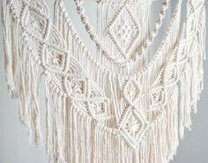Large Macrame Wall Hanging // tapestry // macrame decor //