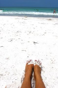 Anna Maria Island Florida;) I will be there in 5 days! The sand really is this beautiful...