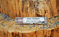 Pink Shimmer Lip Butter Natural Tinted Sun by TheNaturalApothecary, $4.00