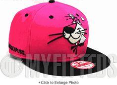 Snagglepuss Cabesa Punch Carmine Pink Jet Black Hanna-Barbera New Era Snapback