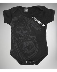 Sons of Anarchy 'Reaper' Infant Snapsuit