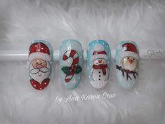 Christmas Nails, Salt And Pepper, Xmas Nail Art, Salt N Pepper, Xmas Nails