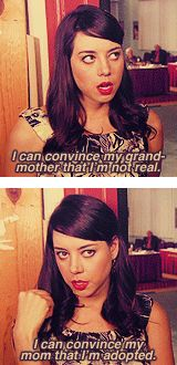 April Ludgate on gullibility.