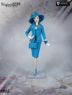 Tenue Outfit Accessoires Pour Fashion Royalty Barbie Silkstone Vintage 1438 | eBay