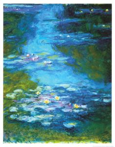 Claude Monet Water Lilies I oil painting for sale; Select your favorite Claude Monet Water Lilies I painting on canvas or frame at discount price. Monet Paintings, Landscape Paintings, Flower Paintings, Landscape Art, Artist Monet, Lily Painting, Garden Painting, Kunst Online, Impressionist Paintings