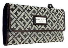 Tommy Hilfiger Womens Wallet Beige and Brown…