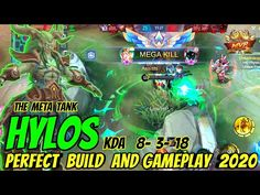 You are watching Now. Hylos The Meta Tank Alucard Mobile Legends, Squad Game, Fan Signs, Best Build, Game Theory, Most Popular Videos, Xbox One, Games To Play, Building