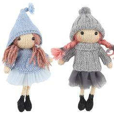 Opskriftspakke (Strik) - Astrid & Frida fra Go Handmade