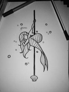 #poledance #polemermaid #polefitness #pole #art