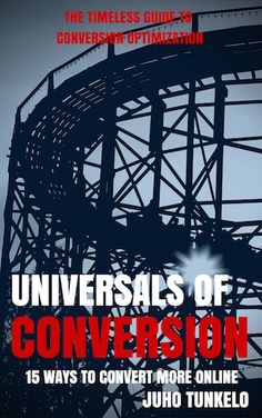 Buy Universals of Conversion by Juho Tunkelo and Read this Book on Kobo's Free Apps. Discover Kobo's Vast Collection of Ebooks and Audiobooks Today - Over 4 Million Titles! Online Marketing Consultant, Everybody Talks, New Books, Online Business, Conversation, This Book, Told You So, Reading, Amazon