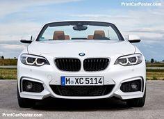 BMW 2-Series Convertible 2018 poster, #poster, #mousepad, #tshirt, #printcarposter