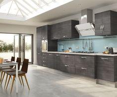Gray Tile Kitchen Floor el #mármol de europa se sintetiza en este #porcelanato #piso