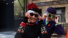 """Advanced (old lady) Style - """"You don't want to look crazy. The object is to look as chic as you can, but your average person in the street would NEVER wear this."""""""