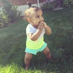 LaToya Forever's baby girl Samia