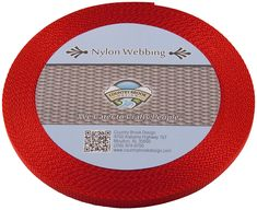 Country Brook Design Inch Black Lite Weight Nylon Webbing, 10 Yards ** See the photo link even more details. (This is an affiliate link). Climbing Rope, Fabric Ribbon, Camping And Hiking, Arts And Crafts Supplies, Black Nylons, Country, Outdoor Recreation, Sports, Design