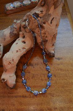 Gemstone Necklace by TheMissingLinks on Etsy, £30.00