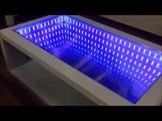 ▶ Infinity Mirror Table self made - YouTube