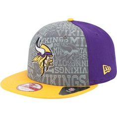 Minnesota  Vikings 2014 New Era® 9FIFTY® Snapback Draft Hat. Click to order 5c150e9f038
