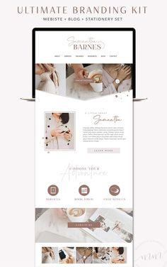 website design inspo for entrepreneurs & creative businesses Web Design Blog, Best Website Design, Design Sites, Website Design Layout, Best Web Design, Web Layout, Website Designs, Design Design, Blog Designs