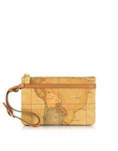 "Alviero Martini 1A Classe 1a Prima Classe - Geo Printed Small ""Contemporary"" Clutch"