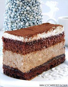 Torta mousse e Nutella