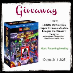 This is a giveaway post for LEGO Justice League. Let's celebrate the new release ofLEGO Justice League vs. Bizarro League Combo Pack with a fun app and giveaway! About theLEGO Bizarro Name Generator App: • Jen-Crush-Zarro-Mecca! Type in your name to reveal your Bizarro alter-ego – If you don't like your name, press the refresh …