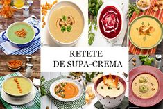 RETETE DE SUPA CREMA   Diva in bucatarie Supe, Cantaloupe, Vegetarian Recipes, Fruit, Food, Essen, Meals, Yemek, Eten
