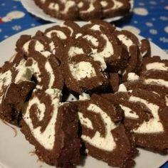 Bounty tekercs (mascaponés keksztekercs)   Kittina90 receptje - Cookpad receptek Diabetic Recipes, Diet Recipes, Cookies, Food, Crack Crackers, Biscuits, Essen, Meals, Cookie Recipes