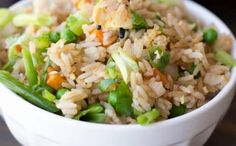 Better Than Take Out Fried Rice via @spaceshipslb