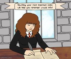 SparkLife » Study Tips from Hermione Granger