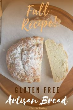 How do you make crusty, melt in your mouth, tender Gluten Free Artisan Bread that gets rave reviews every time? You turn to this recipe! Hands down, it's the tastiest artisan bread ever! It's unique, full bodied, full of flavor and hand shaped. #glutenfreebread #glutenfreebaking #artisanbread Gluten Free Artisan Bread, Gluten Free Quick Bread, Artisan Bread Recipes, Gluten Free Snacks, Gluten Free Baking, Gluten Free Thanksgiving, Yeast Bread, Fall Baking, Fundraising Ideas