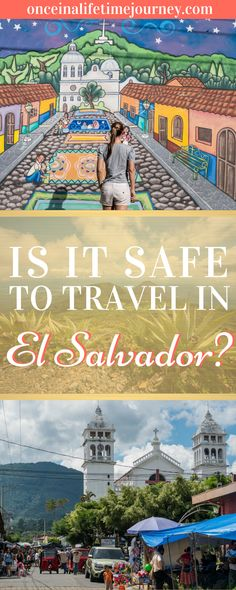 El Salvador was a country that exceeded my expectations and broke all the misconceptions I had, especially on the safety front. But, how safe is El Salvador to visit as a tourist? Click through to read about my experience and find out my safety tips for El Salvador. | Once in a Lifetime Journey #elsalvador #safetytips #traveltips #travel