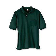 Men's Hanes Stedman Blended Pocket Polo